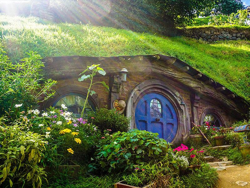 Hobbit Haus - Neuseeland
