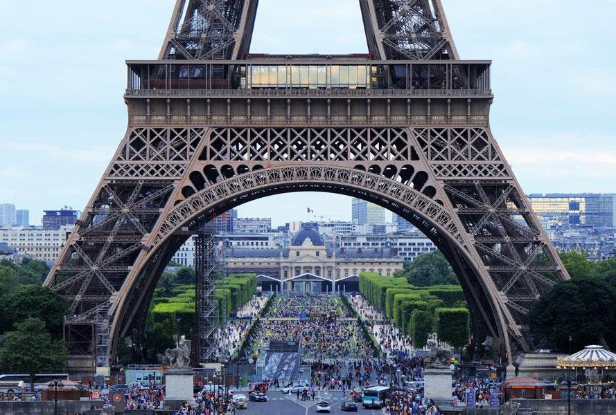 Paris - Eifeltrum