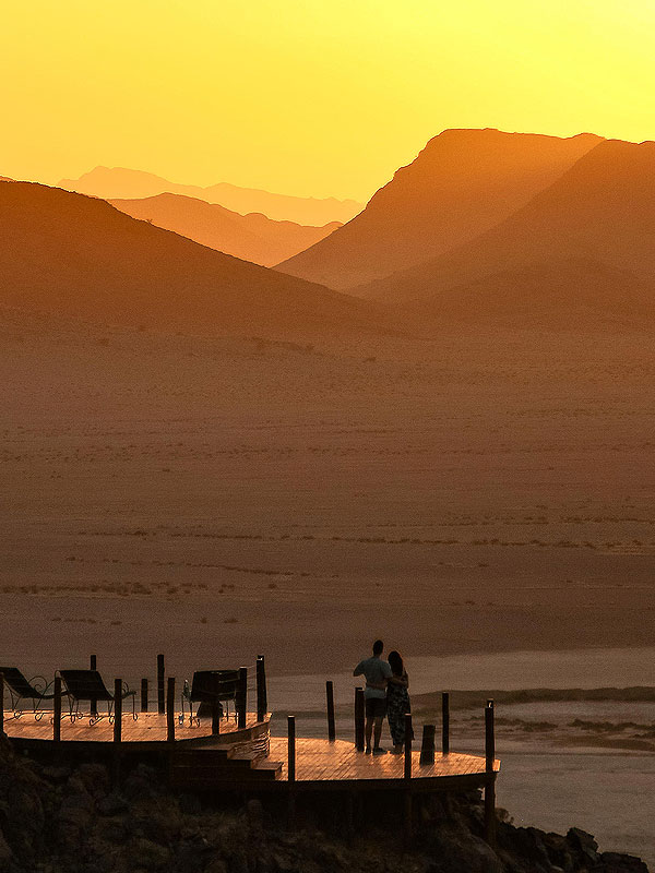 Sonnenuntergang Afrika